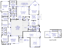 Luxury Modern Courtyard House Plan
