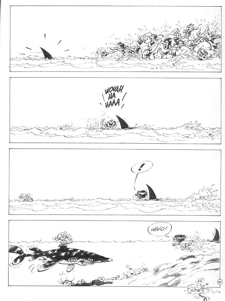 Franquin - Schwarze Gedanken \/ Idées Noires Comic Strip Art - flow chart template for kids