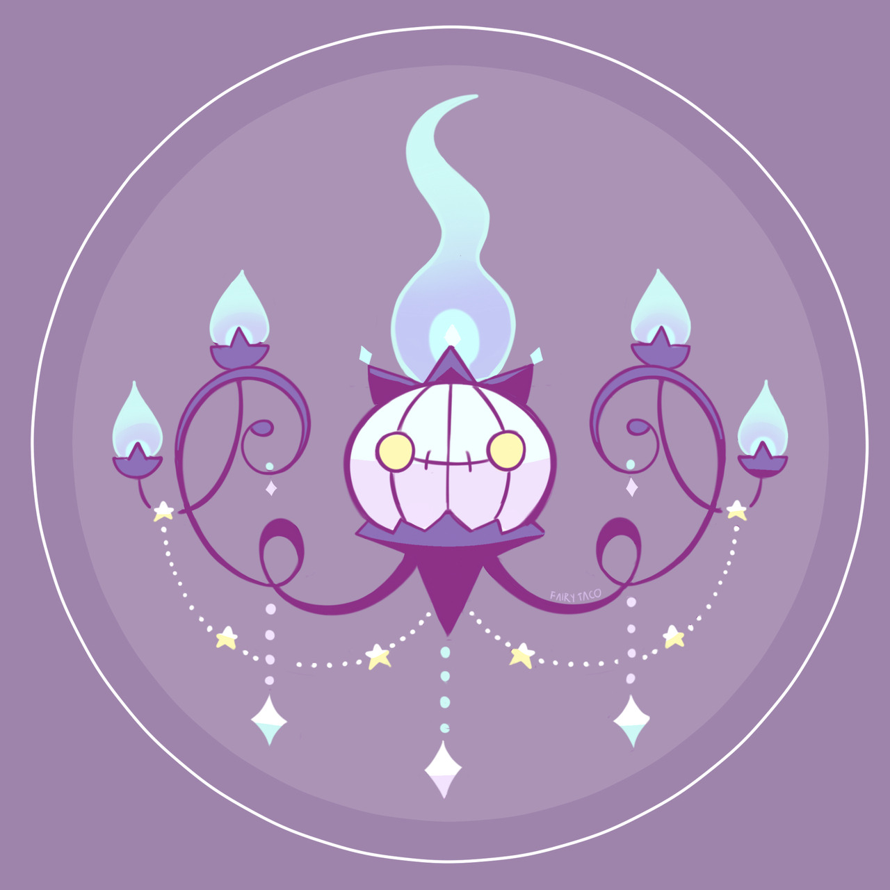 Fairy Taco That S One Very Fancy Chandelure