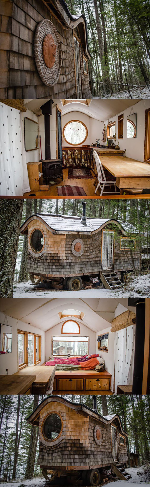 Small Tiny Houses And Interiors