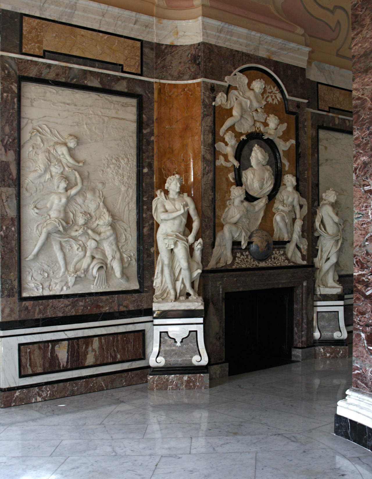 Marmorbad Quest For Beauty — Marmorbad Museum. Kassel Germany. Sculptures And...
