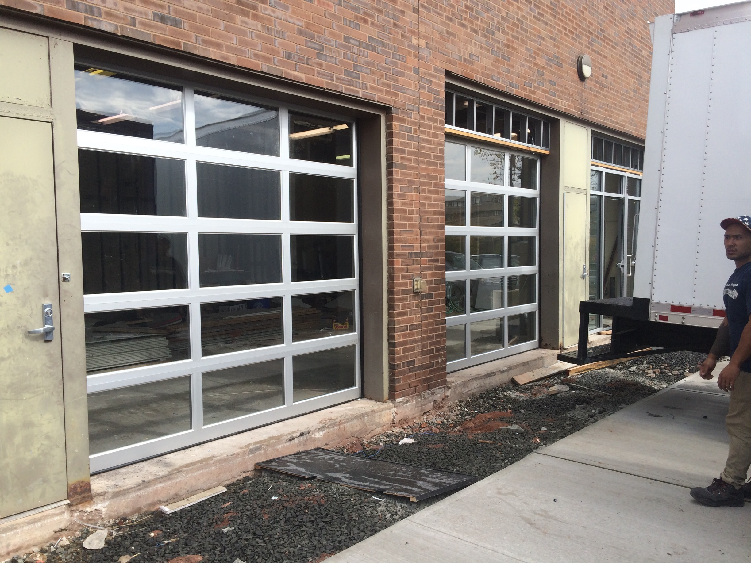 Garage Doors El Paso Texas Loading Dock Inc Overhead Door Inc Glass Garage Doors Image