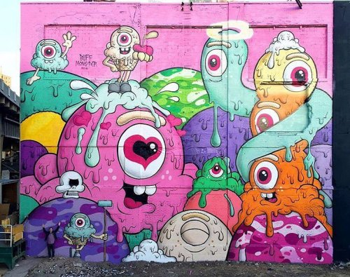 coloursxart:  By Buff Monster - Located in New Jersey