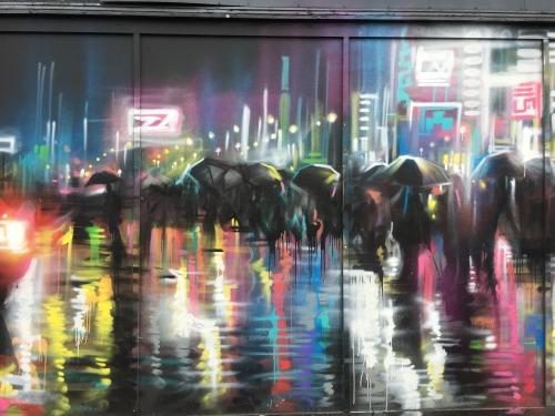 graffitilanes:  City scene. East Croydon, London. September 2016.