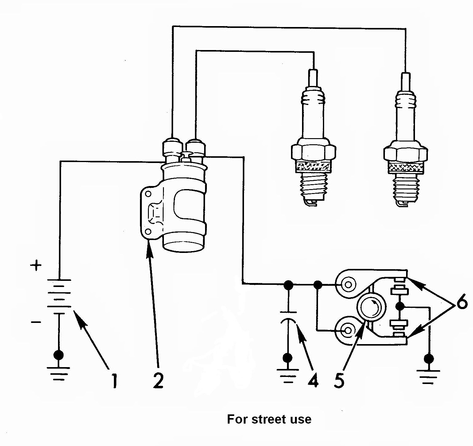ignition coil wiring schematic