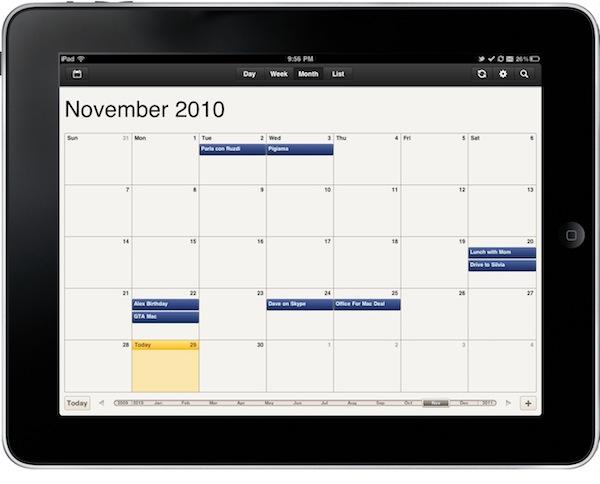 Review Cloud Calendar, Google Calendar Client for iPad \u2013 MacStories