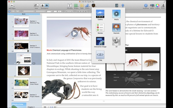 Apple Announces \u201ciBooks Author\u201d Mac App, Available For Free Today