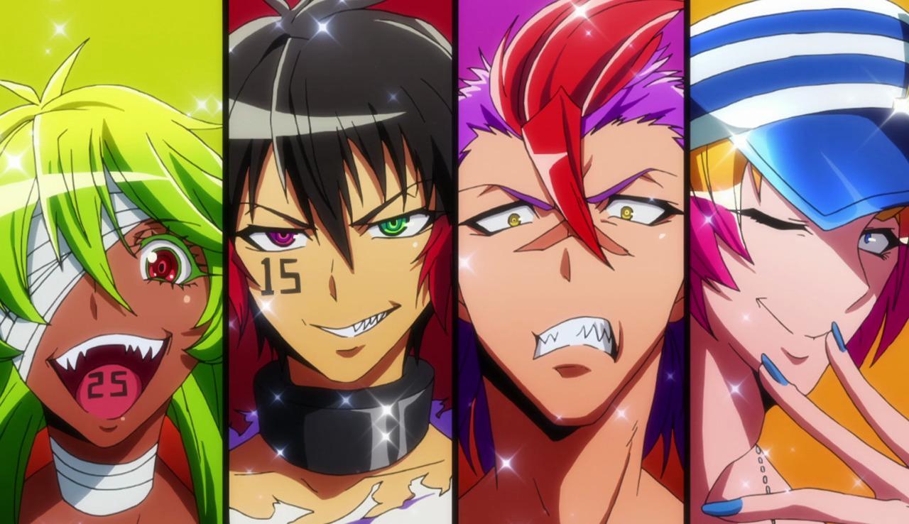 Diabolik Lovers Wallpaper Fall First Impression Nanbaka Mel In Anime Land