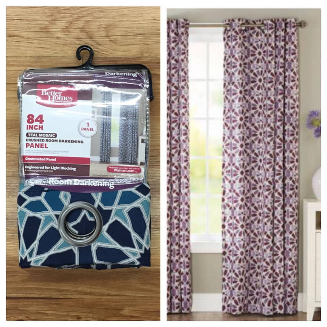 Curtains For Sale At Walmart The Bhglivebetter Mosaic Tile Curtains Are The Whoa Wait