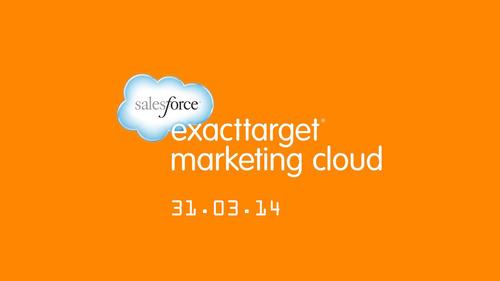 Hello @Salesforce @ExactTarget @MarketingCloud