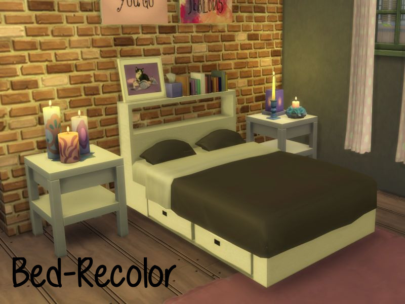 Tumblr Kissen Sims 4 Maxis Match Cc//furniture — Bed Rc1