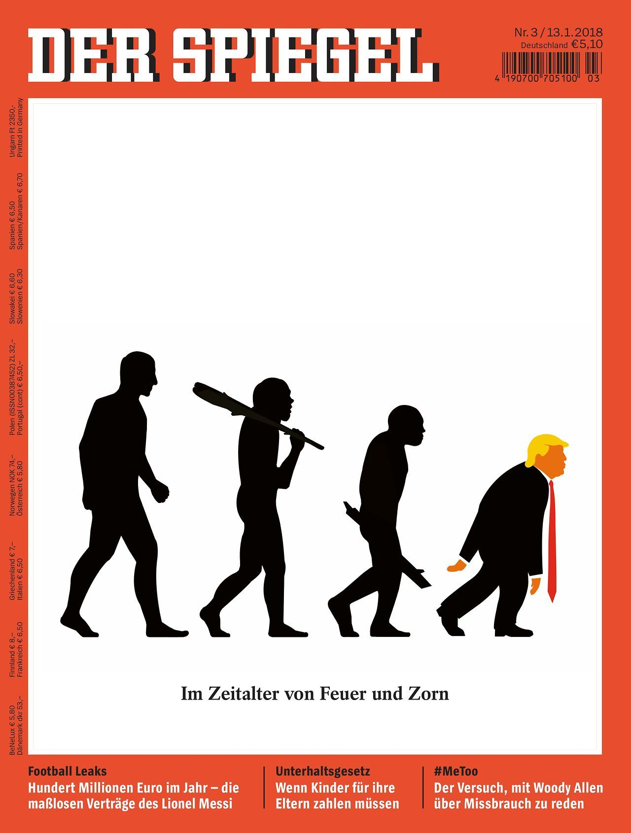 Kinder Spiegel Coverjunkie New Trump Cover Der Spiegel Magazine Artword Edel