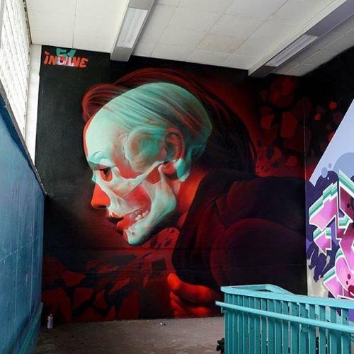 gullyart:  Artist @insane51 #insane51 photo credit @insane51 #gullyart #berlin #2016