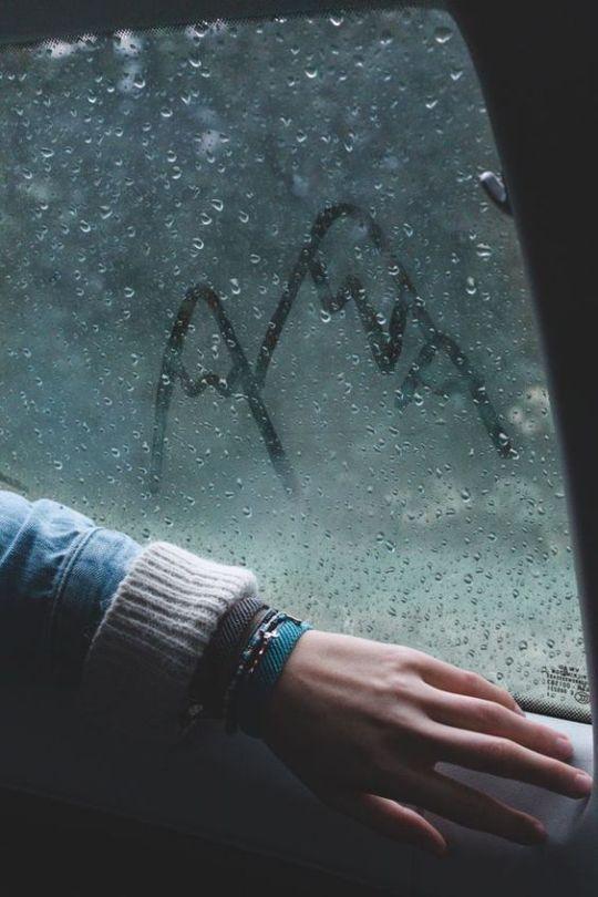 Sad Girl In Snow Wallpaper Rain Aesthetic Tumblr