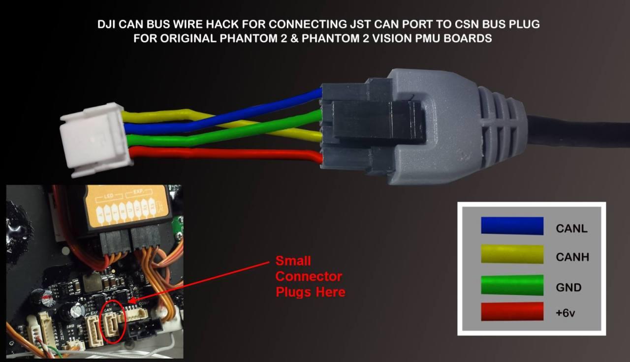 dji can bus wiring diagram