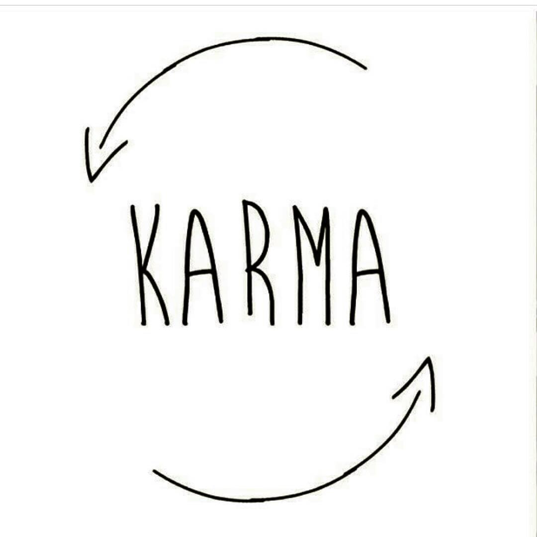 Fake Quotes Wallpaper Karma Frasi Tumblr