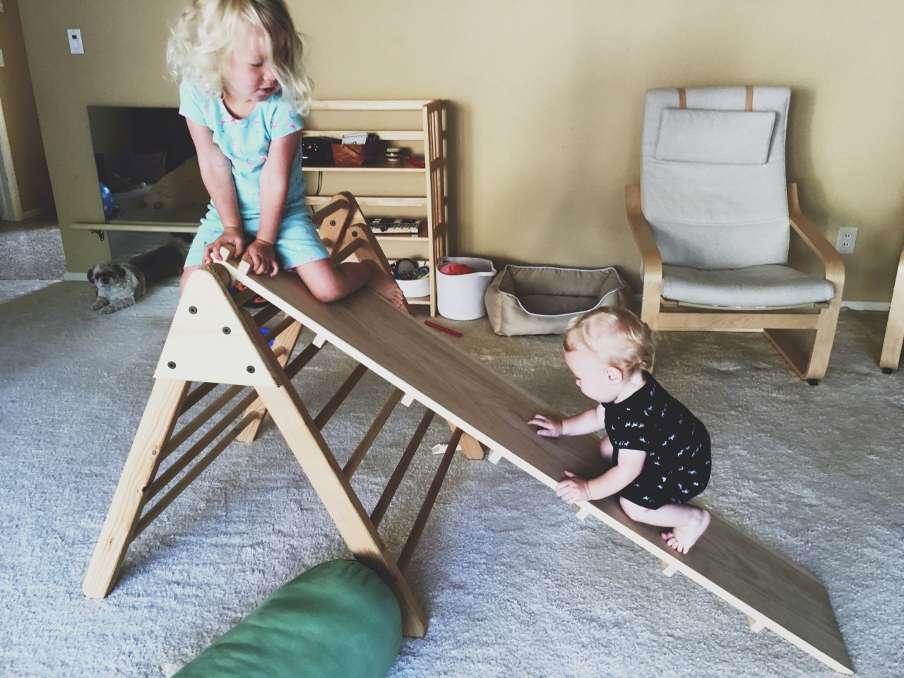 Toddler 4 Years Old Development Midwest Montessori — The Pikler Triangle
