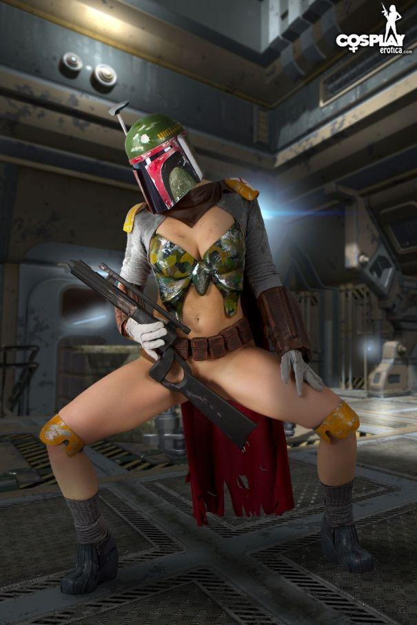 Final, sorry, Girl nerd nude star wars