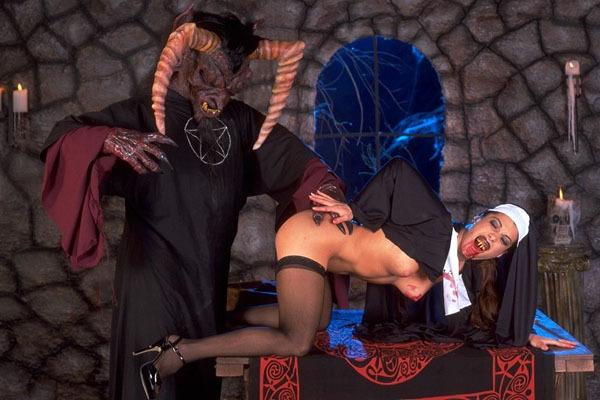 satanic fuck nun and pleasurr