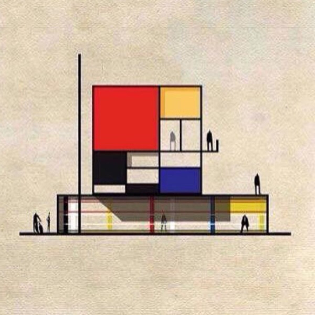 Bauhaus Architekt Bauhaus Movement Magazine Mondrian World Famous Design