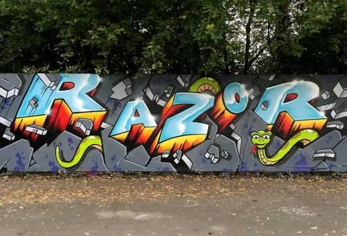madstylers:  RAZOR@razor_first_______________________#madstylers #graffiti #graff #style #stylewriting #character #sprayart http://ift.tt/2ehlO5B