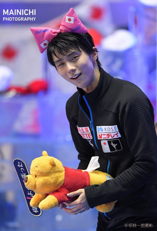 Cute Japanese Cat Wallpaper The Best Figure Skater Ever Yuzuru Hanyū 羽生 結弦