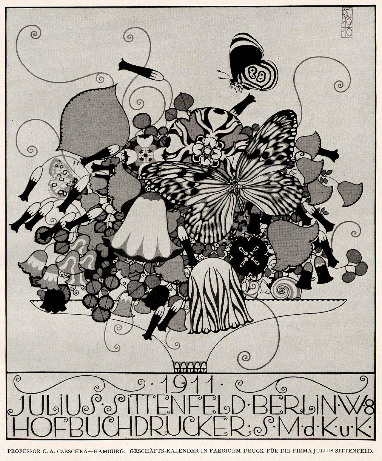 Kunst Poster Notes From A Superfluous Man Carl Otto Czeschka 1878 1960