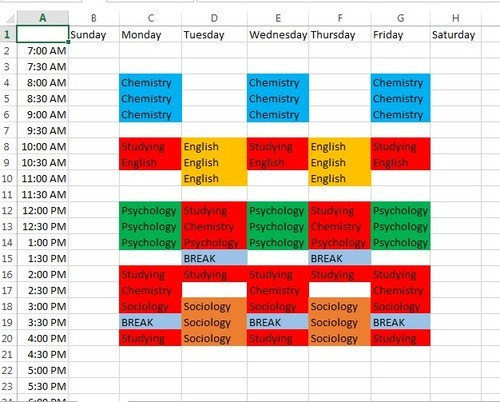 From Ehh to A+ \u2014 How to Make a Study Schedule