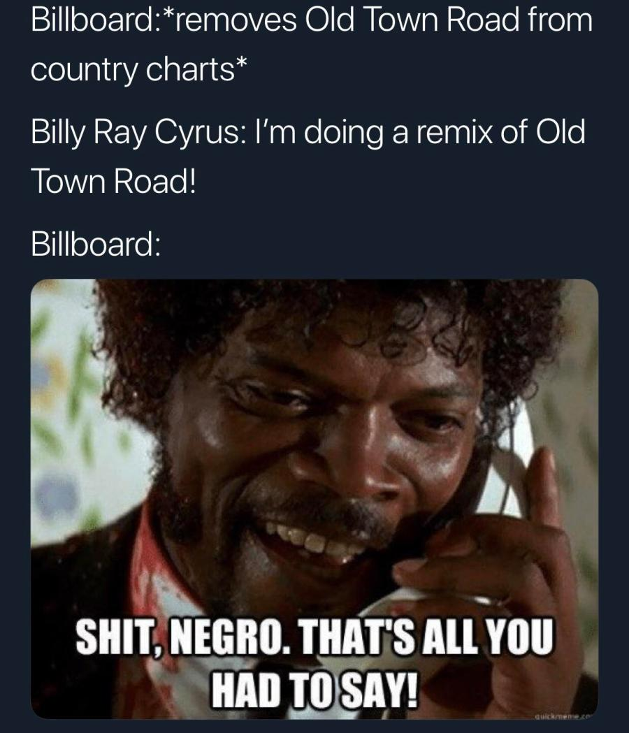 Back to the top of the country charts we go (via /r/