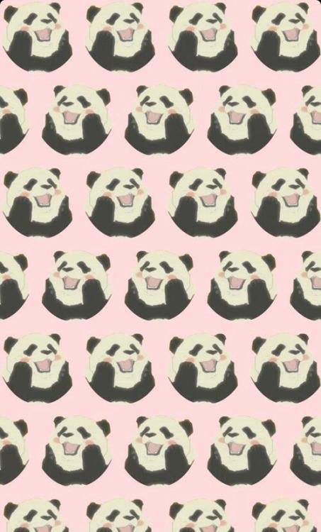 Lovely Cute Girl Wallpaper Pandas On Tumblr