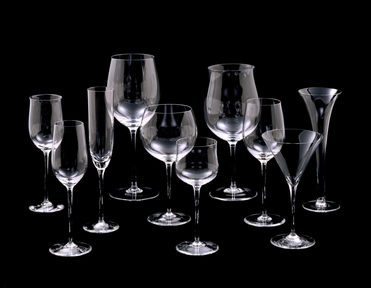 Riedel Glas Corning Museum Of Glass 15 Goblets Claus Josef Riedel For