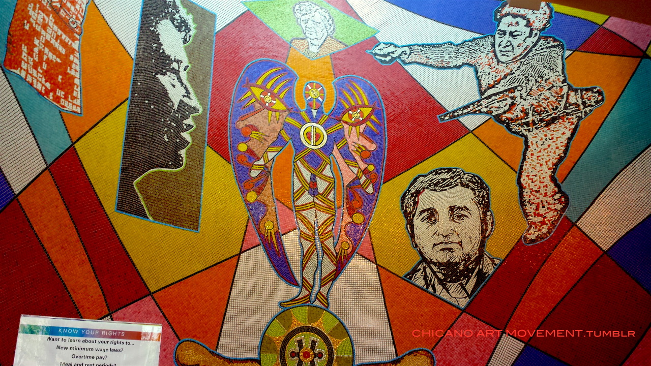 Arte Chicano Murals Chicano Art Movement Chicano Art Movement Visits Crc At The