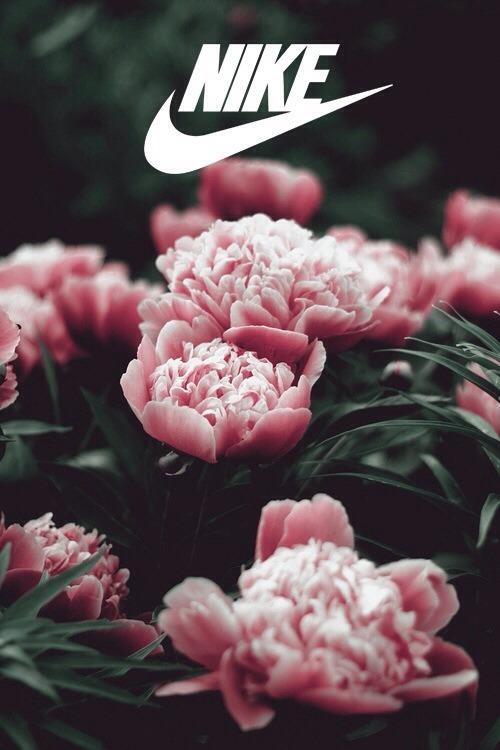 Iphone Lock Screen Wallpaper Not Showing Pink Nike Logo Tumblr
