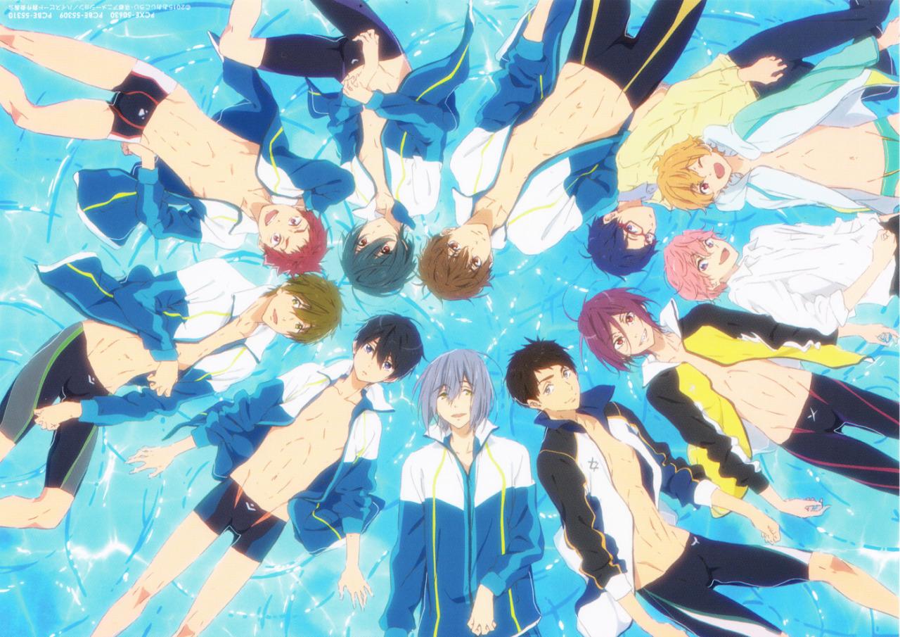 Persona 5 Iphone Wallpaper Free Iwatobi Swim Club See You Next Water Time