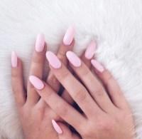 almond nail | Tumblr
