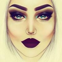 makeup sketch | Tumblr