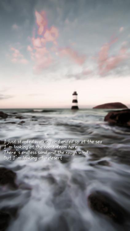 Korean Quote Wallpaper Bts Sea Lyrics Tumblr