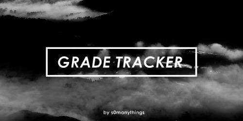 grade tracker Tumblr