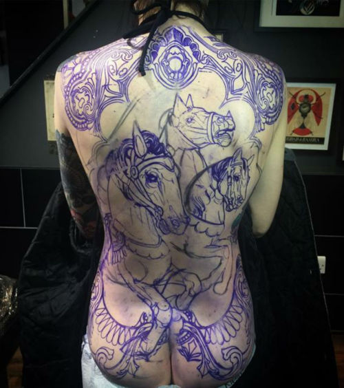 thievinggenius:  Done by Tiny Miss Becca. (in progress)