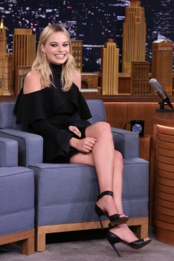 Small Of Margot Robbie Legs