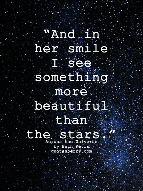 Tfios Wallpaper Quotes And In Her Smile I See Something More Beautiful