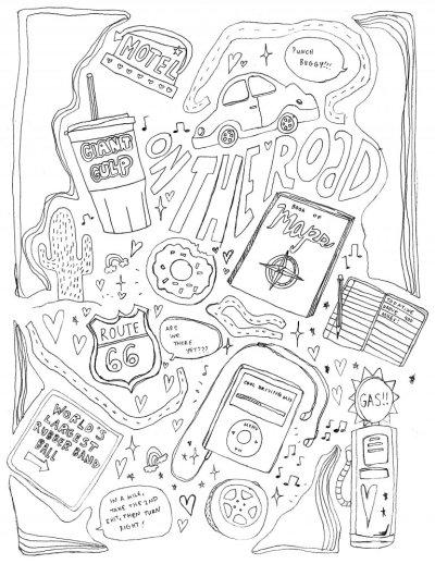 printable coloring page Tumblr