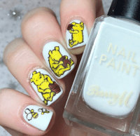 winnie the pooh nail art | Tumblr