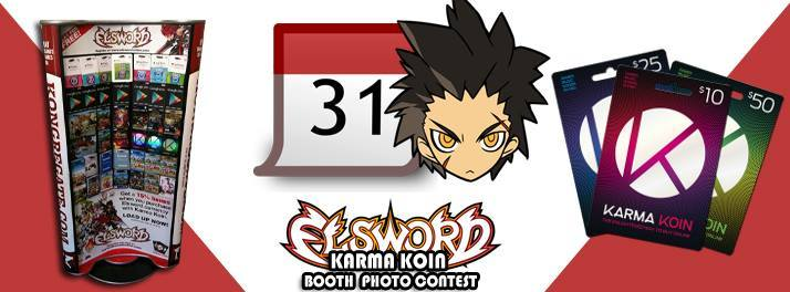 Elsword GM Blog \u2014 A Karma Koin Booth will be at a local GameStop
