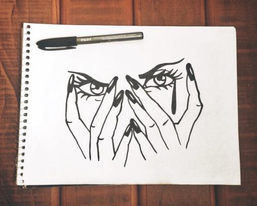 Desenho Olho Tumblr