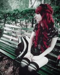 red nail design | Tumblr