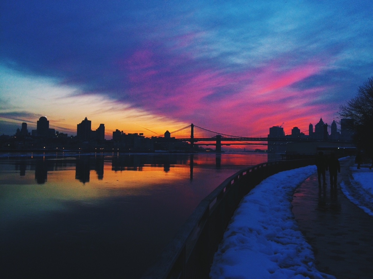 Dubstep Girl Wallpaper Skinnywashere Beautiful Sunsets Over Nyc Nyc Sunset