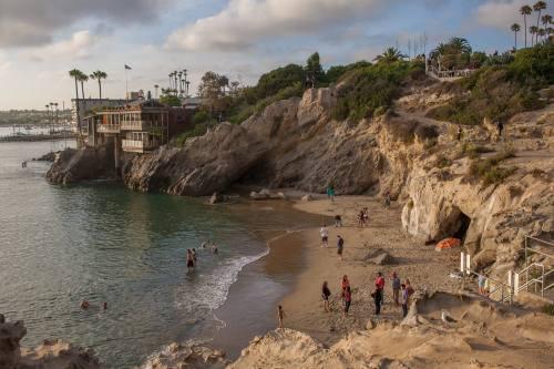 speeding54:  Pirates Cove. Newport Beach, California.Thanks to Jojo Magbitang.