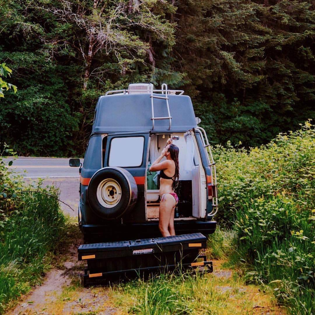 Outdoor Shower Tumblr Vanlifers Onthehorizon Who Loves A Nice Outdoor Shower