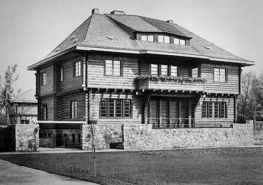 326 Walter Gropius \ Adolph Meyer     Adolf Sommerfeld House - la maison de l artisan